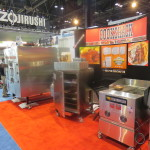 Cookshack Trade Show Booth