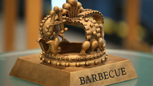 Trophy for World Series of BBQ