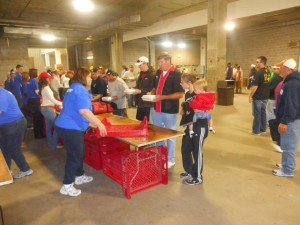 Cookshack team turning in an entry at the 2013 American Royal
