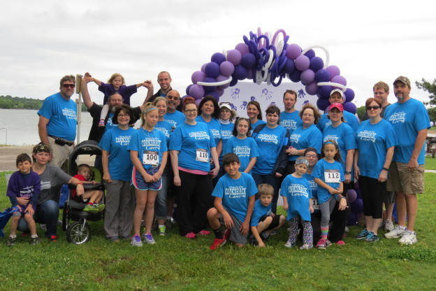 Cookshack Team members walked, ran and found sponsors to help raise money for the March of Dimes during the 2015 Fun Run for Babies.